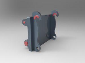 Implemento remontador para palas de carga