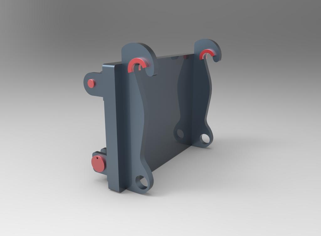 Implementos remontadores para palas de carga